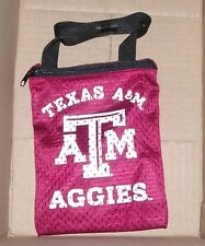"NEW NCAA Texas A&M Aggies Gameday Zippered Mesh Pouch 6"" X 8"" NEW NWT"