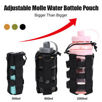 Tactical Molle Verstellbarer Wasserflaschenbeutel Holster Carrier Water Bag Case