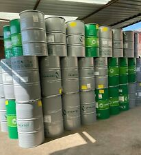 More details for 250 litre 55 gallon big steel drum barrel container for shipping waste feed bin