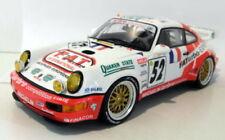 Coches de carreras de automodelismo y aeromodelismo color principal blanco Porsche de escala 1:18