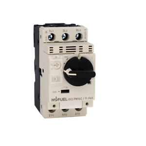 Motor circuit breaker GV2P All series with rotary knob controled DIN Rail Mount