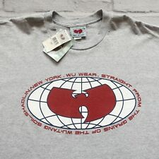 NEW Deadstock 90s Wu Tang Clan Wu Wear Logo Tshirt Made in USA