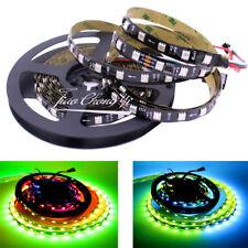5M WS2811 LED Strip 5050 RGB Dream Color 300LED Lights DC 24V IP20 Black PCB