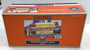 Lionel 6-32960 Route 66 Hindenburger Cafe MIB/New From Estate Find