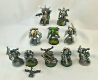 Warhammer 40K Chaos Space Marines Havocs SQUAD of 10 Painted 40,000
