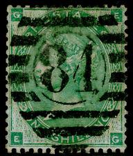 SG90, 1s green, USED. Cat £300. EG