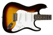 LIQUIDATION B STOCK Revv RPM100 3 Tone Sunburst Strat Electric Guitar Lot 029