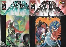BATTLE OF THE PLANETS LOT OF 2 - #1 #2 (NM-) TOP COW