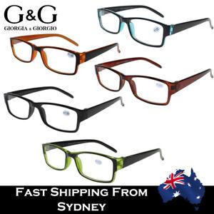 Men Women Plastic Reading Glasses Standard +1.0 1.5 2.0 2.5 3.0 3.5