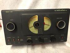 Vintage Hallicrafters Co Model S-38 Shortwave Ham Radio Receiver workingwell