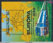 Hongrie Block137B neuf 1979 Développement le Chemin de fer (8641282