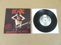 "AC/DC Highway To Hell / Hells Bells ATCO 7"" RARE 1992 UK 1ST PRESSING B8479"