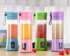 Portable Blender Fruit Juicer Shaker 6 Blades Smoothie USB Travel Small Personal