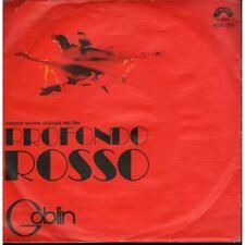 """Goblin Vinile 7"""" 45 giri Profondo Rosso / Death Dies - Cinevox MDF 070 Nuovo"""