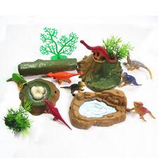15pcs/set Plastic Animal Dinosaur Model Sand Table Scenery Toy Kit Kids Play Toy