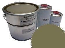 1,5 Set Litre 2K Revêtement de sol RAL 6013 Vert Glanz Peinture de sol Atelier