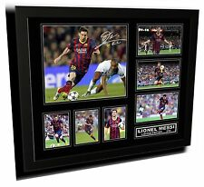 LIONEL MESSI SIGNED LIMITED EDITION FRAMED MEMORABILIA
