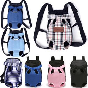 Pet Carrier Dog Cat Puppy Front Back Backpack Shoulder Carry Sling Pouch Bag AU