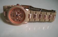 Designer Chronograph Style 3D Boyfriend Geneva Watch