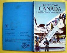 Flight Two Canada vintage Ladybird book Rockies Vancouver travel adventure 1959/