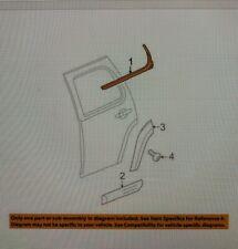 GM NEW OEM Rear Window/Door-Belt Molding Weatherstrip Right 22774085