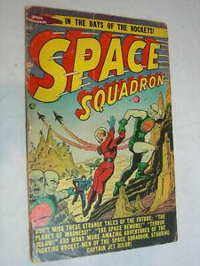 Space Squadron #3 PR/FA Scarce Strange Tales of the Future