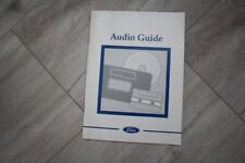 FORD Audio Guide  FOCUS FIESTA TRANSIT MONDEO KA.