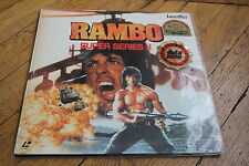 Rambo First Blood 2 1985 Laserdisc Laservision LD NTSC JAPAN Sly Stallone