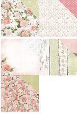 Kaisercraft Cottage Rose 1x Scrappapier verschiedene Motive 30,5x30,5cm