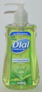 DIAL COMPLETE ALOE LIQUID HAND SOAP WASH ANTIBACTERIA 7.5OZ GREEN