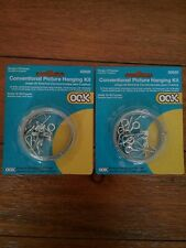 Ook 50920 Picture Hanging Kit, 10 to 30 lb Weight Capacity/ set of 2