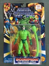 Toy Biz Marvel Comics Marvel Universe Scorpion Tail Striking Action Figure New