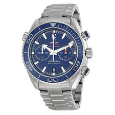 Omega Planet Ocean Chronograph Automatic Blue Dial Mens Watch 23290465103001