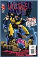Wolverine #96 Marvel Caliban Storm Cyber Cannonball Genesis Larry Hama Kubert VF