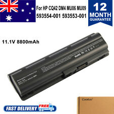 NOTEBOOK Battery for HP G62 serie SPARE 593553-001 593554-001 MU06 Laptop 12Cell