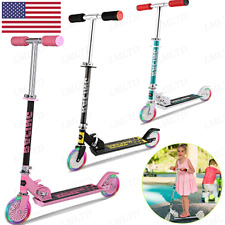 Upgrade B3 Scooter Kids with LED Light Up Wheels Adjustable Height Kick Scooters