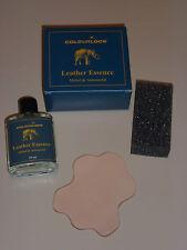 Colourlock ~ leather essence Cuir odeur 30 ml avec éponge et Cuir Pièce