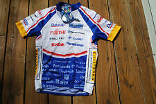 Multi-Colored Adult Small Cycling Shirt new with tags by Cycling Apparel