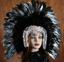 Hand Crafted Feather Mask (MH112)