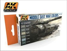 AK Interactive AK 564 Middle East War Colors IDF, Lebanon - Vol.1 Acrylic Paints