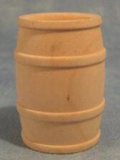 Piccolo barile di legno, DOLLS HOUSE miniature, Outdoor, PUB, 1.12 scala, nave