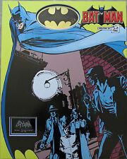 BOB KANE Signed 27x21 Mounted Display BATMAN CREATOR COA