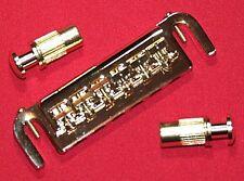 Guitar Bridge WRAP AROUND - 6 Adjustable Saddle Tailpiece - LP Jr - GOLD