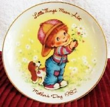 Little Things Mean A Lot Mother's Day - Porcelain Mini Plate - 1982