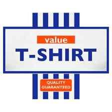 TESCO VALUE funny logo ( Stag / Hen Night ) * Iron On T-Shirt Transfer