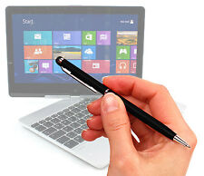Custom Screen Protector For Microsoft Surface RT PLUS 2 Way Black Stylus & Pen