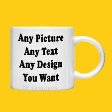Custom Personalised Photo Mug - 6oz Child Size - Your Design, Images or Text!