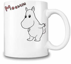Funny Moomin themed 11oz Ceramic coffee Mug Birthday gift.