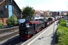 PHOTO  2012 GERMANY HARZ RAILWAY WERNIGRODE TRAIN WITH 99 7237-3