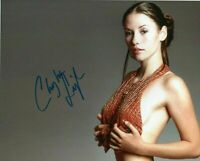 Autographed Chyler Leigh signed 8 x 10 photo Nice HOT !